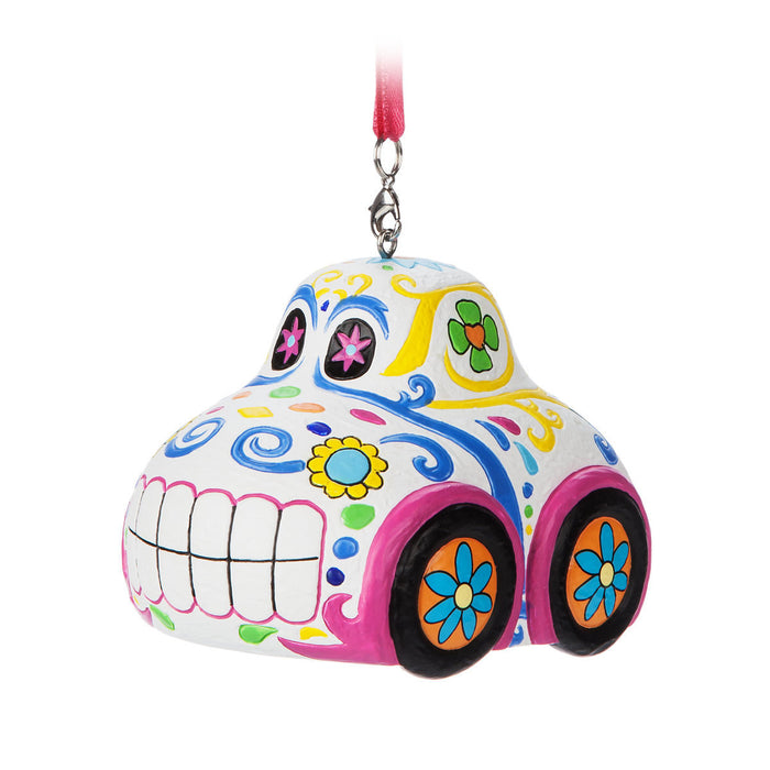 Disney Pixar Cars Dia de los Muertos Resin Christmas Ornament New with Tags