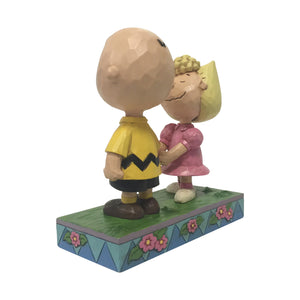 Jim Shore Peanuts Charlie Brown and Sally Figurine New with Box