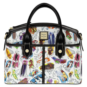 Disney Parks Ink & Paint Satchel Bag by Dooney & Bourke New with Tag