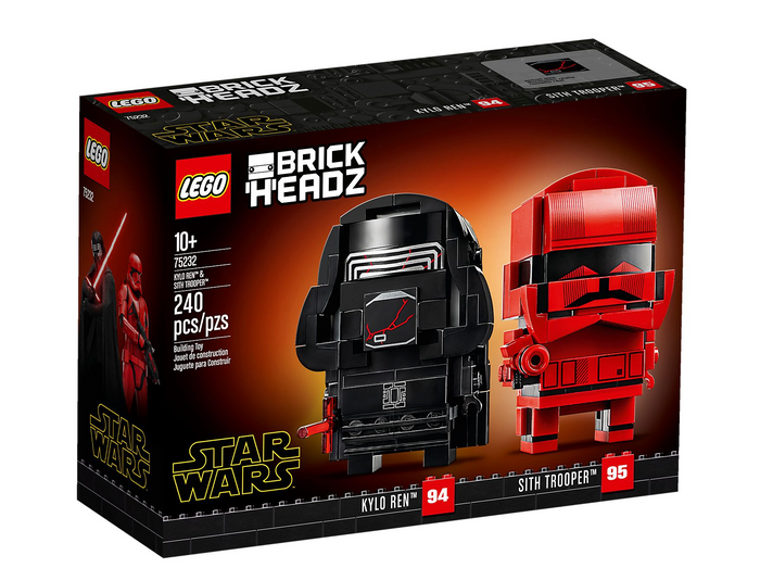Lego 75232 BrickHeadz Star Wars Kylo Ren & Sith Trooper 240 pcs New with Box