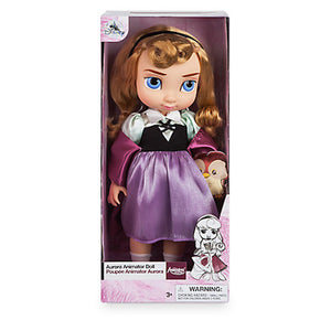 Disney Store Animator Doll Aurora with Baby Owl New with Box