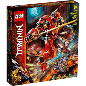 Lego 71720 NINJAGO Fire Stone Mech Ninja Mech Building Toy New with Sealed Box