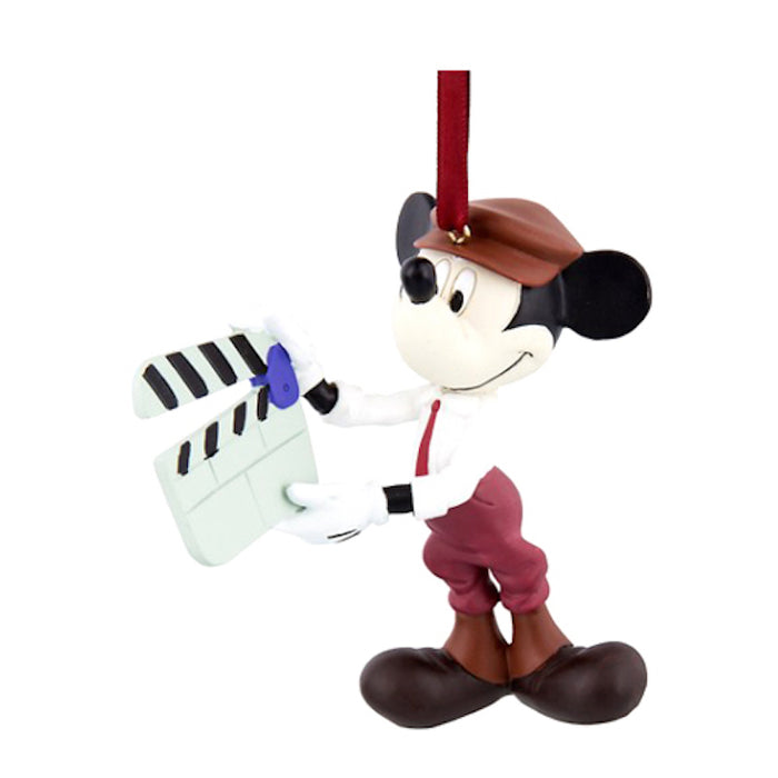 disney parks hollywood studios mickey ciak director ornament new with tags