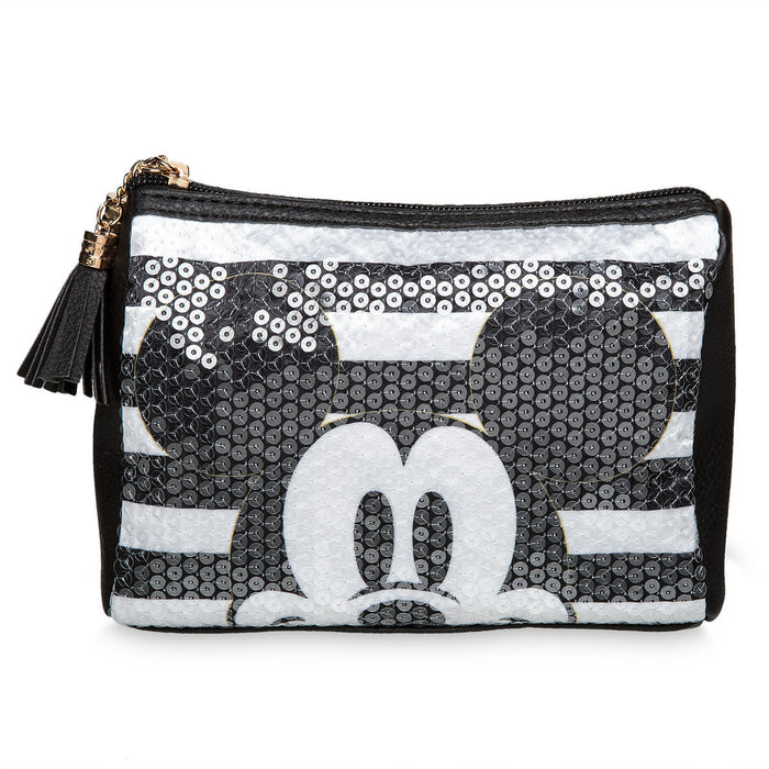 Disney Parks Mickey Sequined Pouch New with Tags
