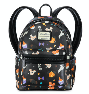 Disney Parks Mickey Mouse Halloween Mini Backpack New with Tags