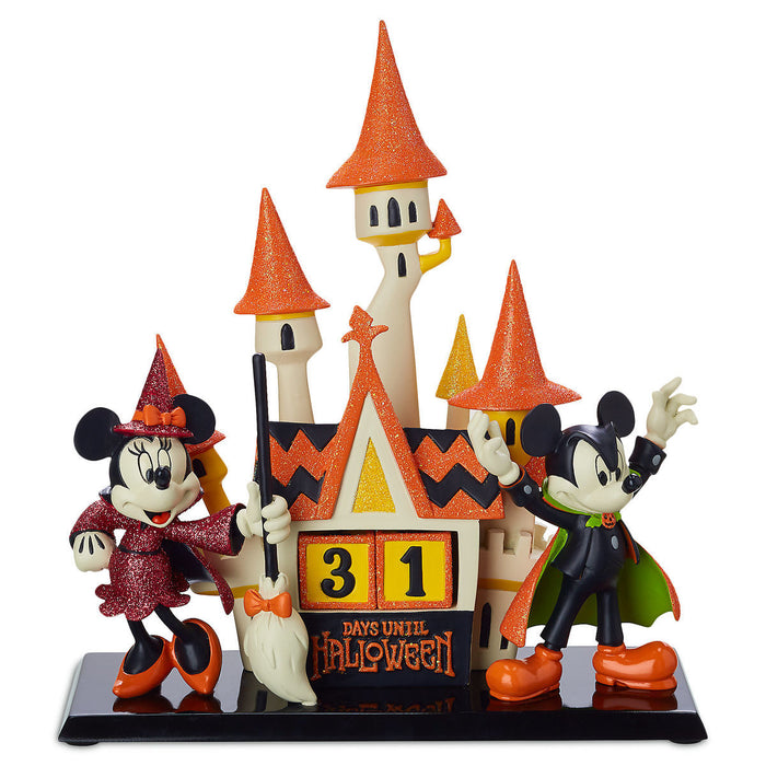 Disney Parks Mickey Mouse & Minnie Halloween Countdown Calendar New with Tags