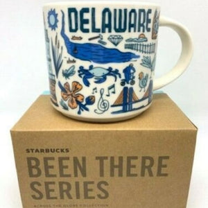 Starbucks Been There Series Collection Delaware Ceramic Coffee Mug New