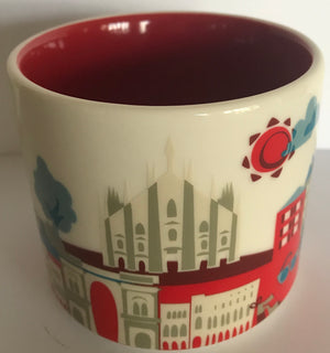 Starbucks You Are Here Collection Milan Italy Ceramic Coffee Mug New With Box