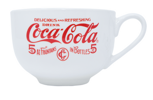 Authentic Coca-Cola Coke Pre 1910 Soup Mug 24oz New