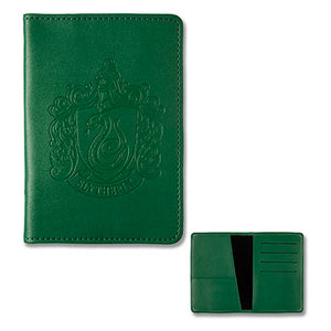 Universal Studios Wizarding World Of Harry Potter Slytherin Passport Holder New
