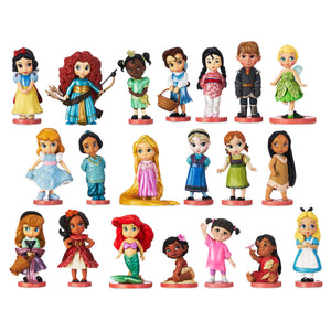 Disney Animator's Collection Figure Mega Play Set 20 Pcs Playset Figurine New