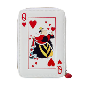Disney Parks Alice in Wonderland Queen of Hearts Pouch New with Tags