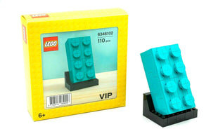 Lego 6346101 VIP Teal Brick Collectors Edition New with Box
