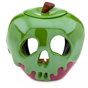 Disney Poison Apple Just one Bite Halloween Votive Candle Holder Snow White New