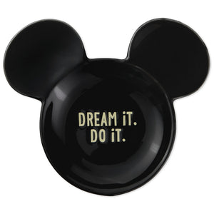 Hallmark Disney Dream It Do It Mouse Ears Trinket Dish New