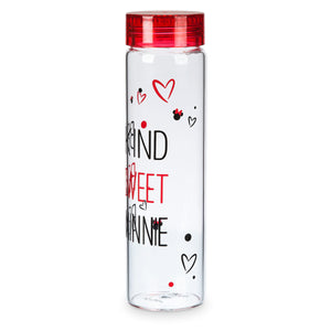 Disney Parks Be Kind Be Sweet Be Minnie Glass Water Bottle 24 oz New