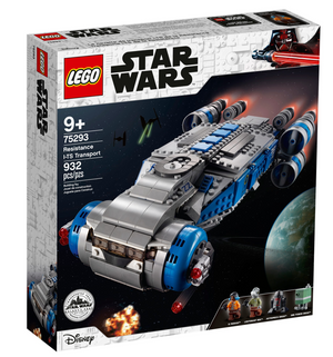 Lego 75293 Star Wars Star Wars Resistance I-TS Transport Set New with Box