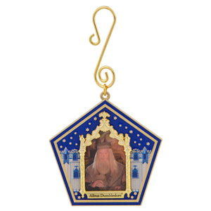 Universal Studios Harry Potter Albus Dumbledore Wizard Card Ornament New w Tag