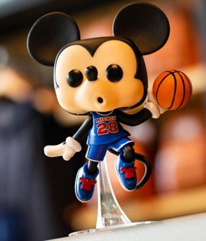 Disney Parks Mickey Mouse Pop NBA Experience Funko Pop Vinyl New With Box