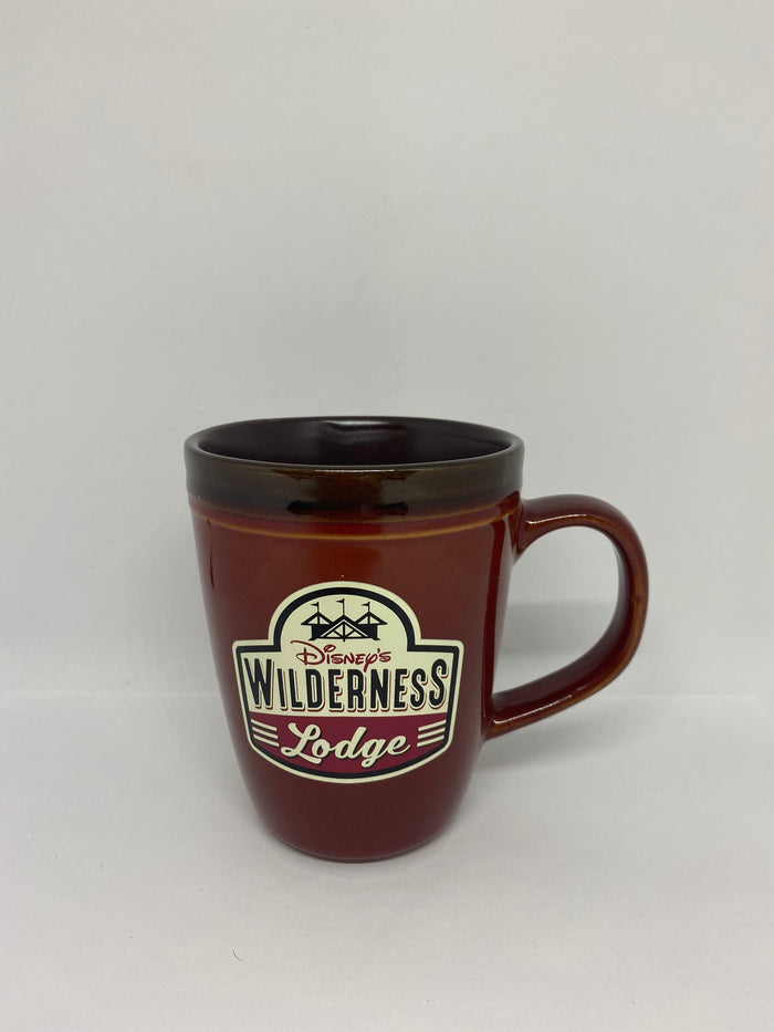 Disney Parks Wilderness Lodge Ceramic Coffee Mug New