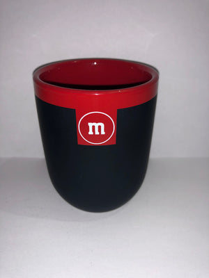 M&M's World Teacup Matte Red New