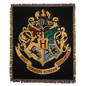 Universal Studios Wizarding World of Harry Potter Hogwarts Throw New with Tags