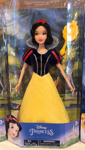 Disney Parks Princess Snow White Doll with Brush New Edition New with Box