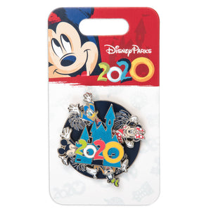 Disney Parks Mickey Mouse and Friends Spinner Pin 2020 Pin New