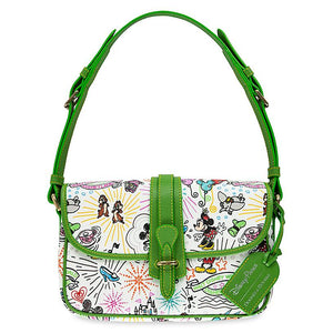 Disney Parks Sketch Crossbody Bag by Dooney & Bourke 10th Anniversary New