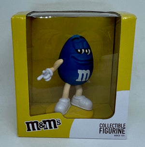 M&M's World Blue Collectible Figurine New With Box