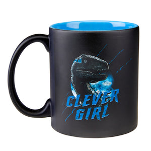 Universal Studios Jurassic World Clever Girl Coffee Mug New