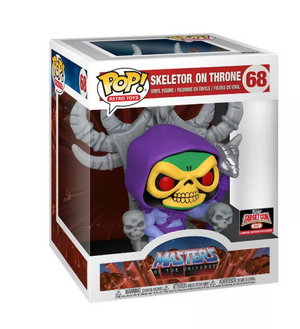 Pop Funko 68 Master of the Universe Skeletor on Throne Target Con 2021 Limited