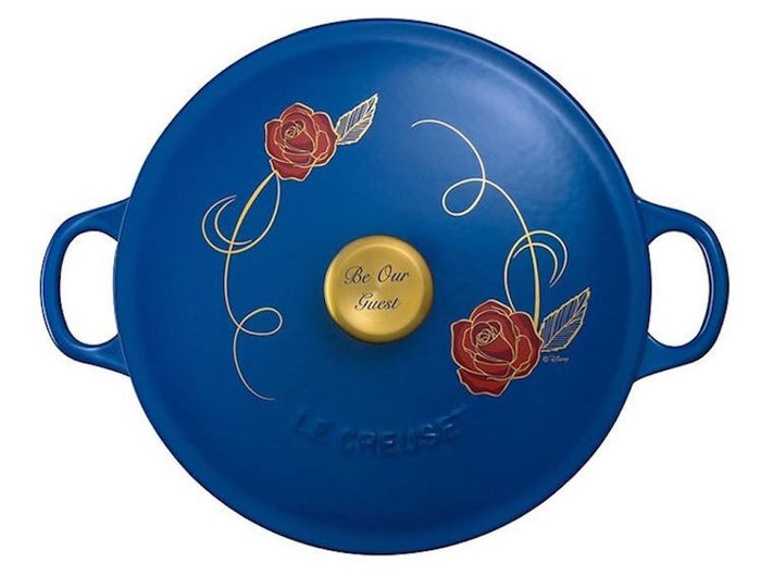 Disney Le Creuset Beauty and the Beast Limited Edition Soup Pot New with Box