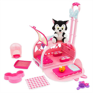 Disney Figaro Pet Carrier Play Set New