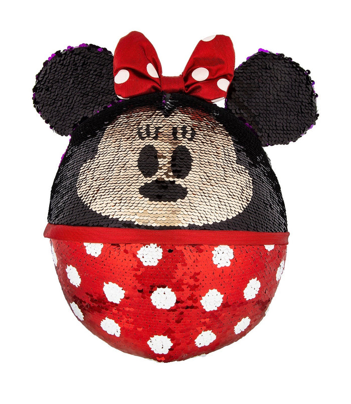 Disney Parks Minnie Reversible Sequined Plush New with Tag