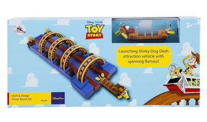 Disney Parks Toy Story Slinky Dog Dash and Dodge Power Boost Set New with Box