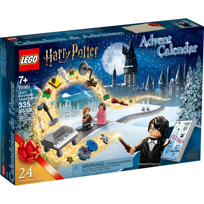Lego 75981 Harry Potter Christmas Advent Calendar Set New with Sealed Box