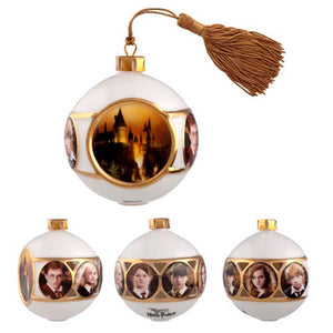 Universal Studios Wizarding World of Harry Potter Glass Ball Ornament New with Tag