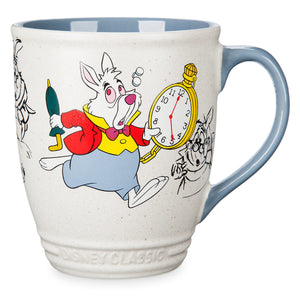 Disney Store White Rabbit Mug Alice in Wonderland Classics Collection New