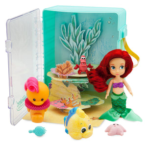 Disney Animators' Little Collection Ariel Mini Doll Playset The Little Mermaid