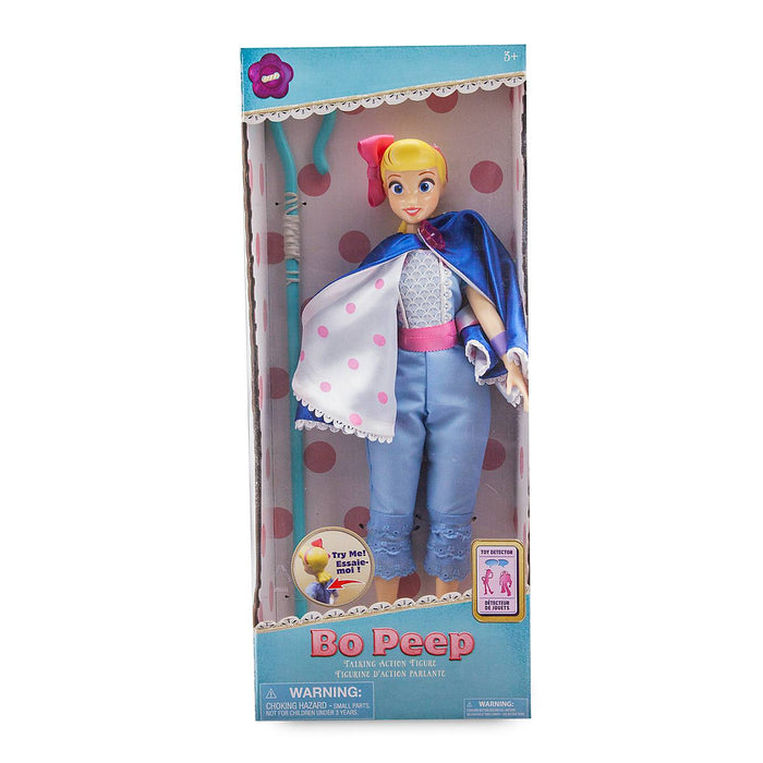"Disney Parks Toy Story Bo Peep 14"" Talking 14 Phrases Figure New with Box"