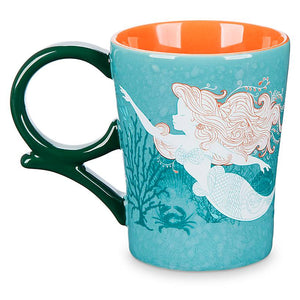 Disney Cruise Line Ariel Just Me and the Sea Coffee Mug New