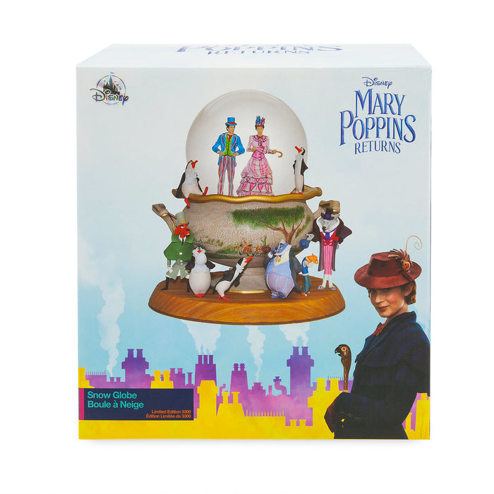 Disney Mary Poppins Returns Snow Globe Limited Edition New with Box