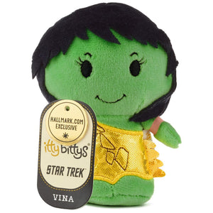 Hallmark Star Trek Vina Limited Edition Itty Bittys Plush New with Tag