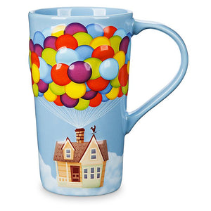 Disney Pixar Russell Up Tall Latte Mug New