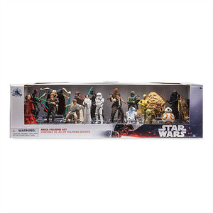 Disney Star Wars Mega Play Set Figurine Set of 20 New with Box