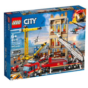 Lego 60216 City Downtown Fire Brigade Set New with Sealed Box
