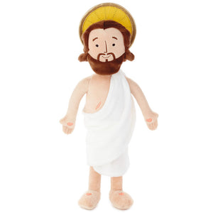 Hallmark Jesus Lives Plush Doll New with Tags