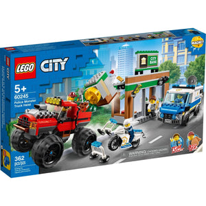 Lego 60245 City Police Monster Truck Heist Building Set New with Sealed Box