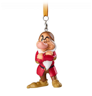 Disney Parks Grumpy Christmas Ornament New with Tags